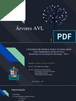 Arvores AVL