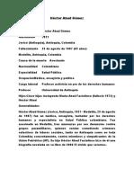 Homicidio Hector Abad Gómez