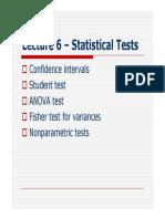 Statistic testsss