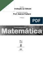 Introdução ao cálculo