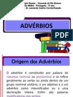 Aulas 20 e 21 - Advérbios (1) (1)
