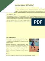 Fundamentos Básicos Del Voleibol