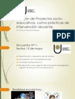 Gestión de Proyectos socio-educativos, como prácticas de.pptx