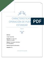 Caracteristicas y Operación de Puertos Estandar