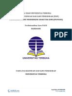 Download Soal Ujian UT PGPAUD PAUD4405 Profesionalitas Guru PAUD