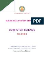 Computer Science Vol 1 EM