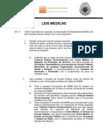 Leis Medicas - M.O.G