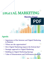 Digital Marketing project