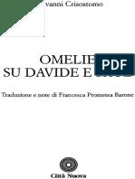 Omelie Su David e Saul - Giovanni Crisostomo