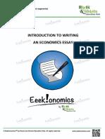 Economics Essay Skills Sample Segment