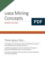 Data Mining Concept (MMU)
