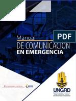 Manual de Comunicación en Emergencia