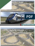 Autopista Del Sol y Tren de Cercanias