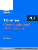 (Cambridge Texts in the History of Political Thought) Ferdinand Tönnies, Jose Harris, Margaret Hollis-Tönnies_ Community and Civil Society -Cambridge University Press (2001).pdf