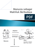ISD-SAP3 Manusia Sebagai Makhluk Berbudaya