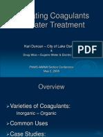 Coagulants for Water Treatment