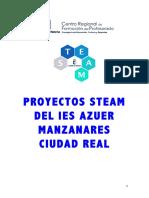 Proyectos STEAM en el IES Azuer 2018