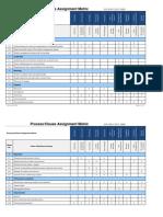 Process Clause Matrix