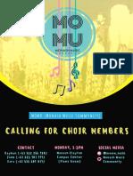 Calling for Choir Members