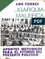 Torres, José Luis - La Oligarquía Maléfica