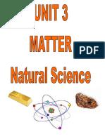 Unit 3. Matter
