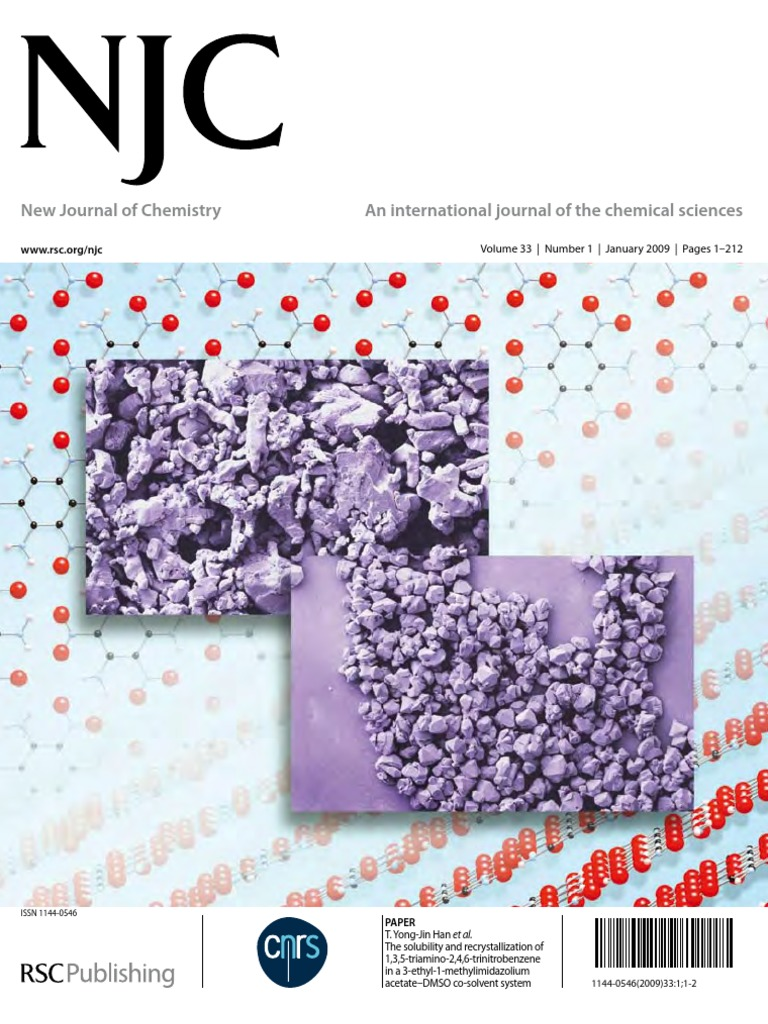 New journal of chemistry january 2009a explosive material chemistry fandeluxe Choice Image