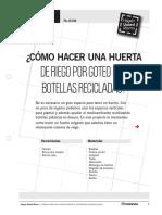 huerta de riego por goteo con botellas recicladas.pdf