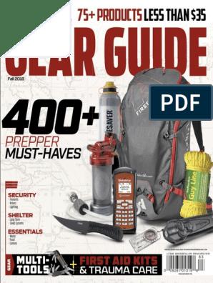 AmericanSurvivalGuide-August2018, Gear Guide | Water