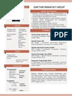 1. Daftar Riwayat Hidup ITERA.pdf