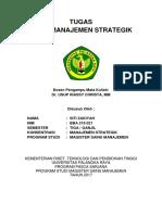 Siti Zakiyah - UTS - Riset Manajemen Strategi