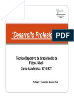 Presentacion Desarrollo Profesional I