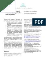 SOF Repetir Endoscopia Pacientes Dispepsia