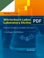 Wörterbuch Labor - Laboratory Dictionary (DE-EN)
