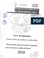 Protocolo ECER 2018