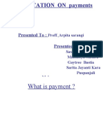 Payments Ppt.group 7