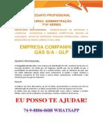 Anhanguera Empresa Adm Companhia Do Gás Sa 7 e 8