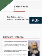 Sociologia Geral e Da Educação.aula 3- KARL MARX