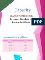 converting capacity