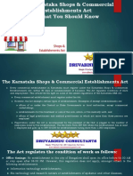 Karnataka Shops & Estalishment