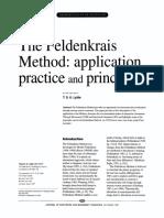 The Feldenkrais Method- Application, Practice and Principles