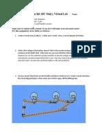 Circuit Construction Kit Phet Lab DCOnlyAnswer Key
