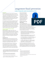 Investment Management Fraud Prevention