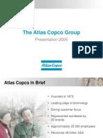 Atlas Copco Group Presentation 2005