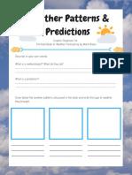 weather pattern graphic organizer