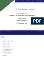 732A94_AdvancedRHT2017_Lecture05