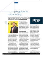 Robotics Safety