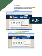Pasos Para Crear El Blog de Tu Escuela