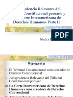 AMAG. Lambayerque. Jurisprudencia Relevante Del TC y de La CIDH. . Parte II. Primero