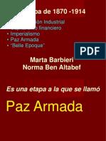 PAZ ARMADA PARTE 1