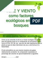 7. Efectos de Factores Abióticos en Los Sistemas Forestales.aire Y VIENTO